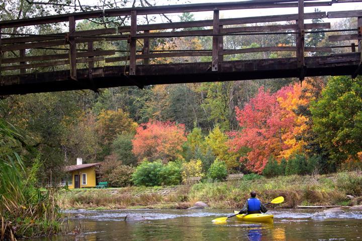 Pagramančio regioninio parko poilsiavietė prie Akmenos upes
