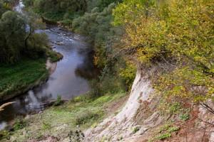 Pagramančio atodanga plaukiant Akmenos upe