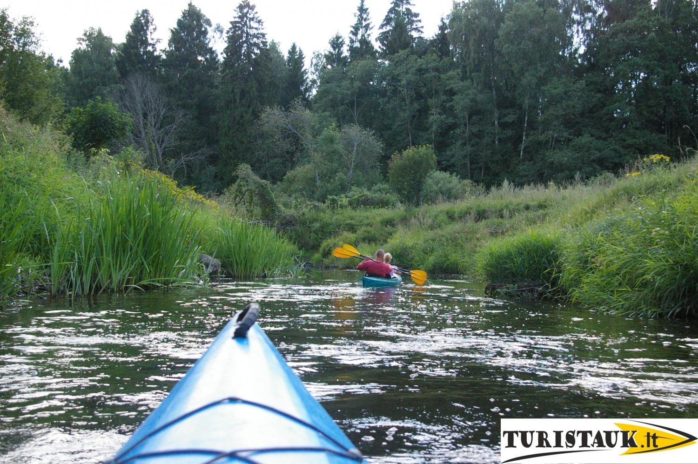 Baidariu marsrutas juros upes zadvainai - pajuralis - kvedarna su nakvyne, apgyvendinimas, Turistauk.lt