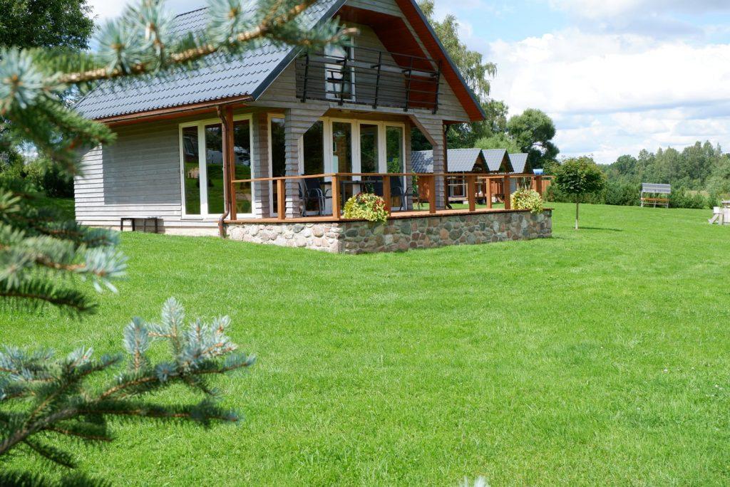 Dovydo stovyklavietė - namas su terasa