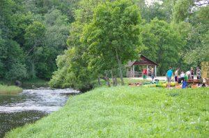 Pajurio miestelio rekreacine stovyklaviete