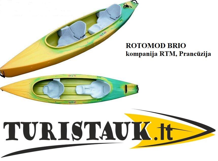 ROTOMOD-BRIO-Prancuzija-dviviete-baidare-Turistauk.lt