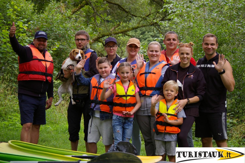 Juros upes baidariu marsrutas Kirnes - Pajuris, stovyklaviete, lankytini objektai, Turistauk.lt
